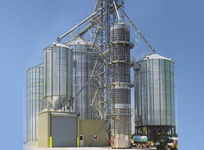 Grain Handling Silos from Brock
