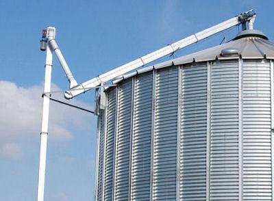 Grain Handling Chain Elevator