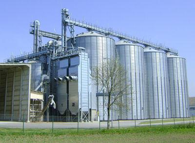 Grain Handling Continuous Flow Dryer
