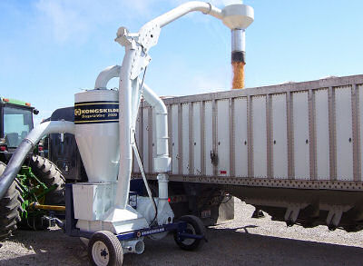 Grain Handling Suction Blowers - Tractor Powered