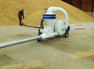 Grain Handling Suction Blowers - Electric Powered